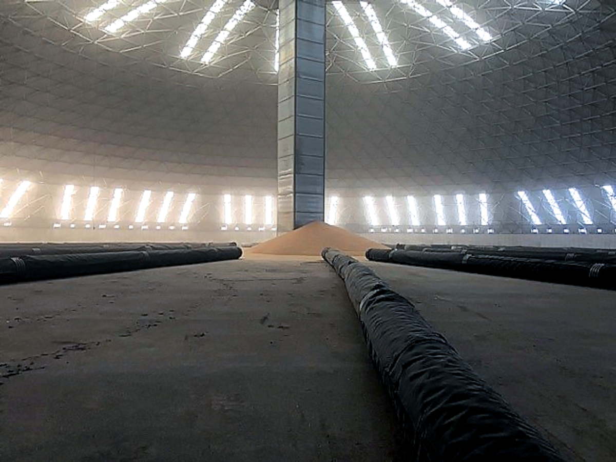 West Central Ag Inside Dome